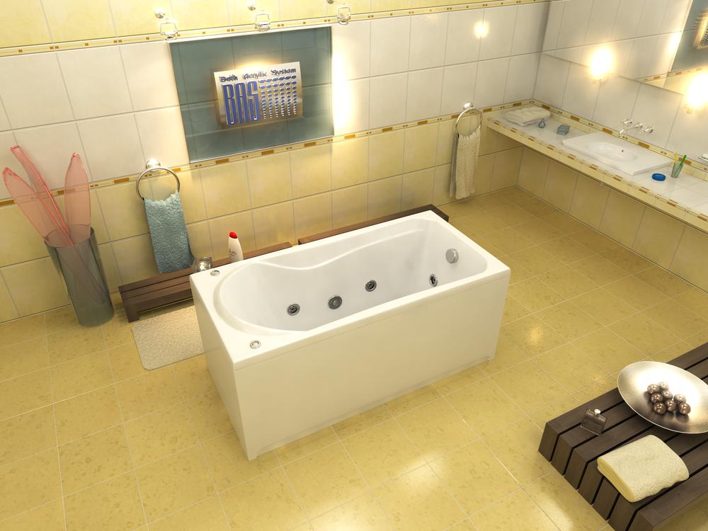 Акриловая ванна Бриз BAS