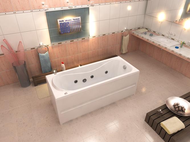 Акриловая ванна Стайл BAS