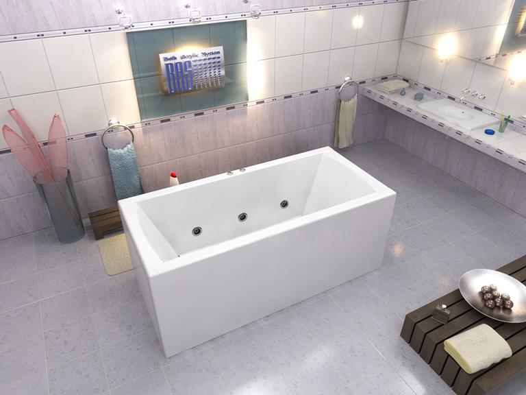 Акриловая ванна Индика BAS