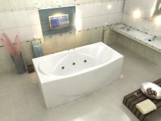 Акриловая ванна Фиеста BAS