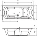 Акриловая ванна Riho Livorno 190х90