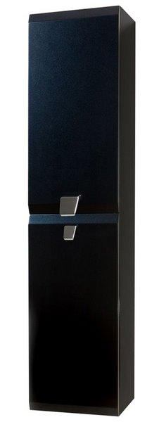 Шкаф-пенал Vanto 300х230х1300, настенный, левый, белый глянец, Mod 606