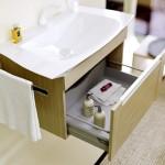 Мебель для ванной Aqwella Simphony 90 (сосна беленая)