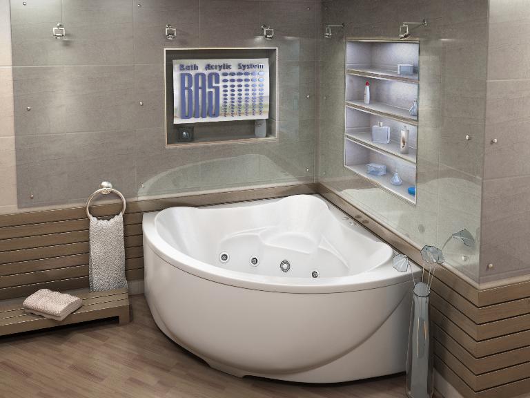 Акриловая ванна Модена BAS