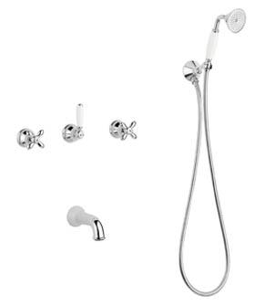Смеситель для ванны Migliore Princeton Plus ML.PRP-8018