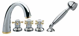 Смеситель для ванны Migliore Time DL.TIME-4491