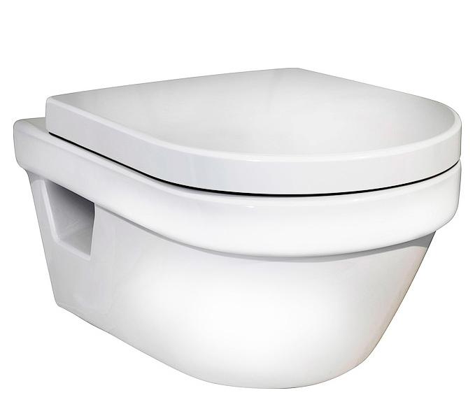 Унитаз подвесной Gustavsberg Hygienic flush с сидением 5G84HR01