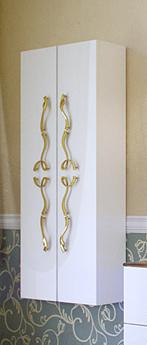 Пенал Due Amanti, цвет белый, ручки золото