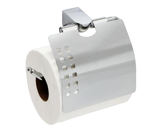 Держатель туалетной бумаги с крышкой WasserKRAFT Kammel K-8325