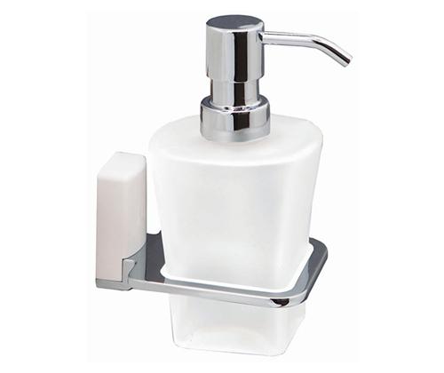 Дозатор жидкого мыла WasserKRAFT Leine (White) К-5099