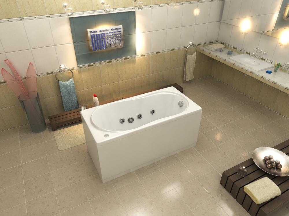 Акриловая ванна Тесса BAS