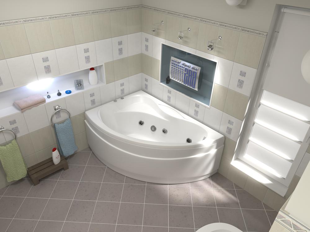 Акриловая ванна Вектра BAS