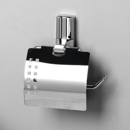 Держатель туалетной бумаги с крышкой WasserKraft