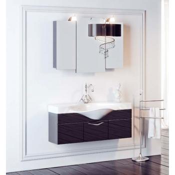 Мебель для ванной Aqwella Бродвей 110 (черный) (дверцы)