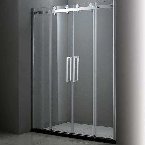 Душевая дверь Cezares Stylus-BF-2-150-C-Cr 1500х1950, прозрачное, профиль хром