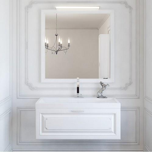Мебель для ванной Aqwella Империя 80 (белый)