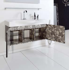 Мебель для ванной Aqwella Рома 100 (белый)