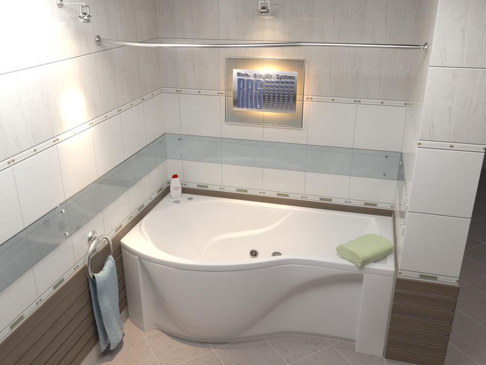 Акриловая ванна Капри BAS