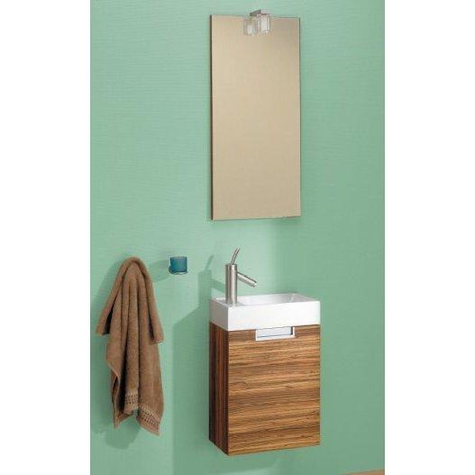 Мебель для ванной Aqwella Леон (зебрано)