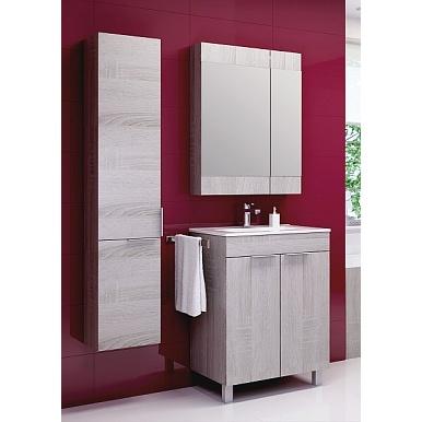 Мебель для ванной Aqwella Бриг 60 напольный (дуб седой)