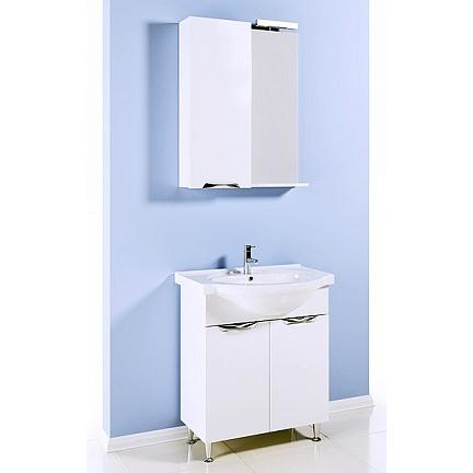 Мебель для ванной Aqwella Лайн 65 с бельевой корзиной
