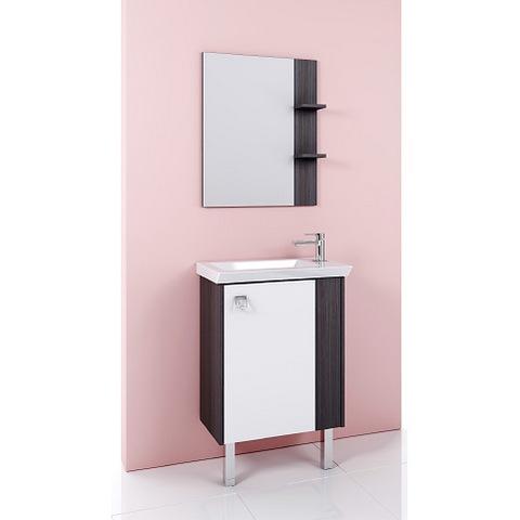 Мебель для ванной Aqwella Командор 60 напольный (дуб графит)