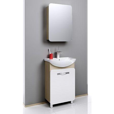 Мебель для ванной Aqwella Вега 55 (дуб сонома)