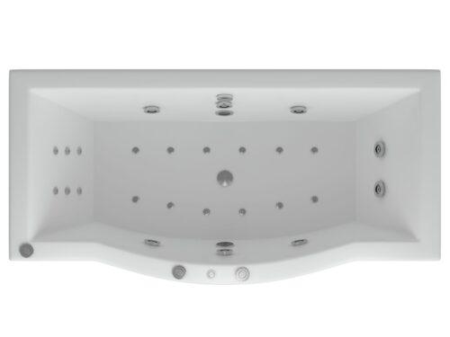 Акриловая ванна Акватек Гелиос