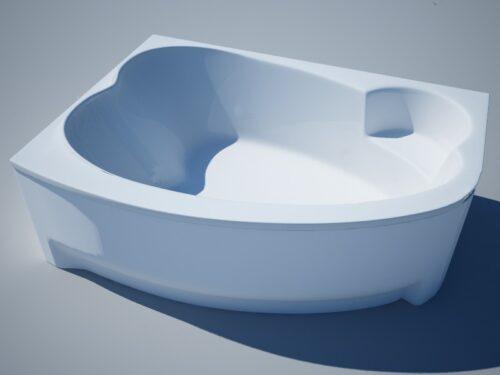 Акриловая ванна Thermolux INFINITY Love 190 x 138