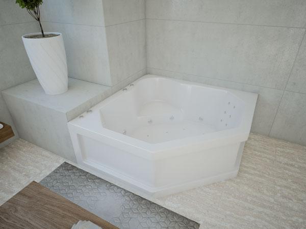 Акриловая ванна Акватек Лира