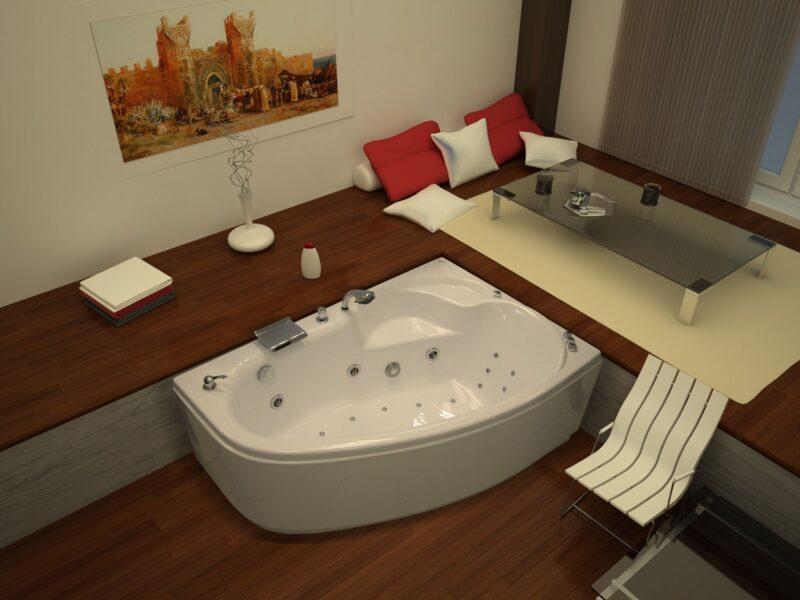 Массажная ванна Thermolux TALIA 170x110