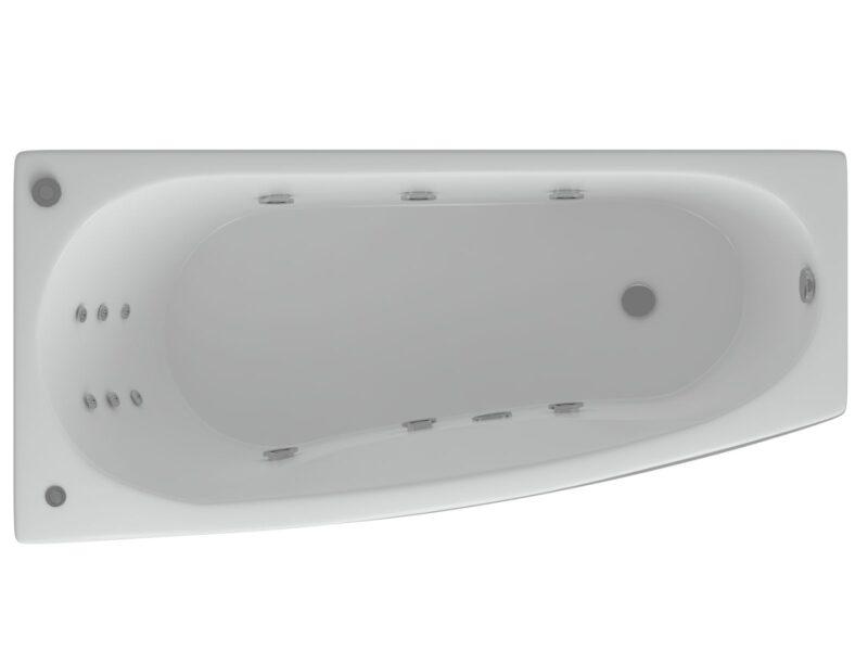 Акриловая ванна Акватек Пандора