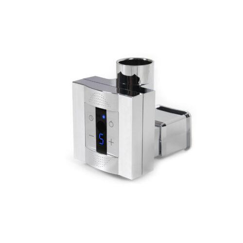 Полотенцесушитель электрический Terma Kioto+KTX4+TS 870х480 белый (скрытая подводка)