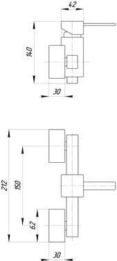 Смеситель для душа Migliore Kvant ML.KVT-2738