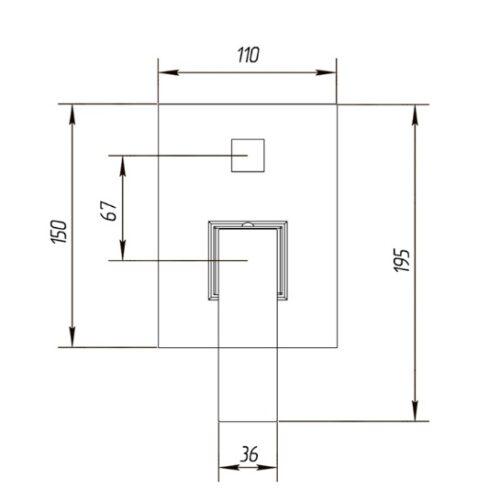 Смеситель для душа Migliore Kvant ML.KVT-2772