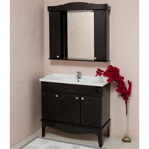 Мебель для ванной Onika Сен Мари 90 черный (комплект)