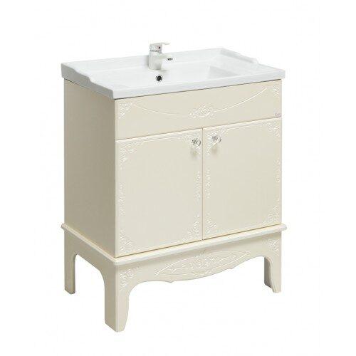 Мебель для ванной Onika Сен Мари 70 жемчуг, белый, красный, черный
