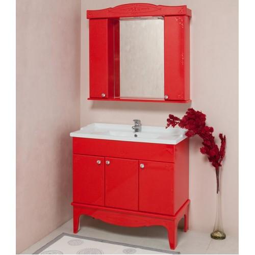 Мебель для ванной Onika Сен Мари 90 красный (комплект)