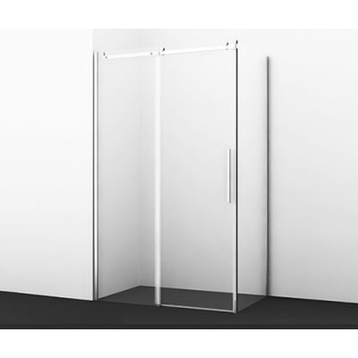Душевой уголок 120х90 см прозрачное стекло WasserKRAFT DINKEL 58R07