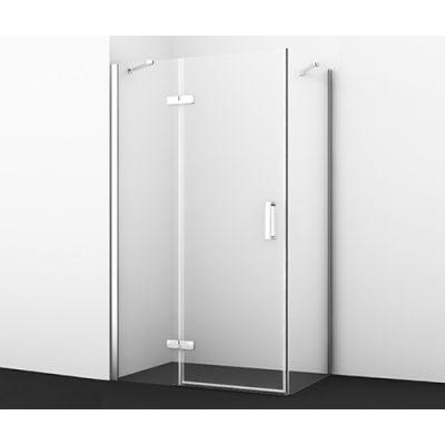 Душевой уголок 120х90 см прозрачное стекло WasserKRAFT ALLER 10H07L