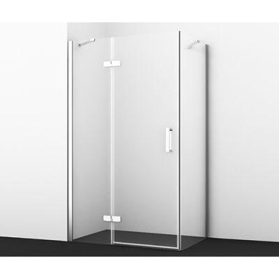 Душевой уголок 120х90 см прозрачное стекло WasserKRAFT ALLER 10H07LWHITE