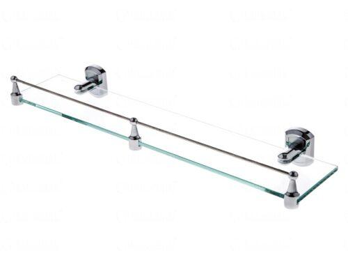 Полка стеклянная с бортиком WasserKRAFT Oder K-3044