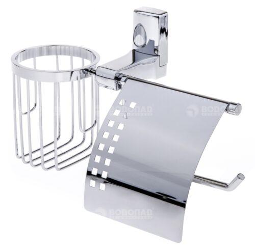 Держатель туалетной бумаги и освежителя WasserKRAFT Leine K-5059