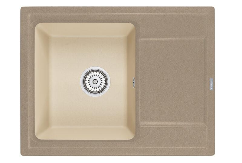 Кухонная мойка Hibrid 6504sabr