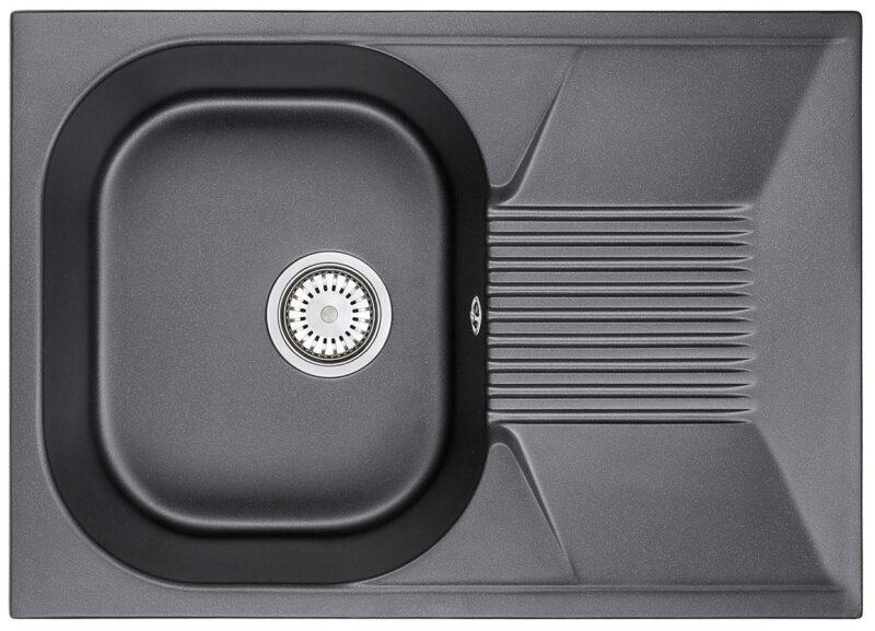Кухонная мойка Granula 7602bl