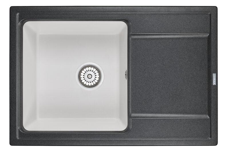 Кухонная мойка Hibrid 7401blwh