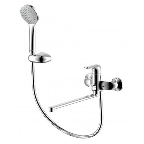 429500000 Palace Evo, смеситель для ванны/душа с универсальным изливом 350 мм, ручным душем, шт