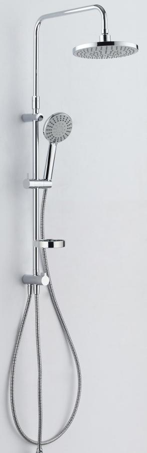 409110064 Akita, душ.система: верх. душ d 220 мм, ручн. душ d 120 мм, 5 режима, переключатель