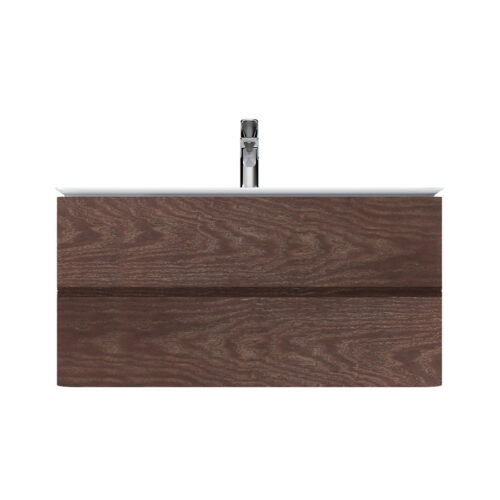 M30FHX1002TF Sensation, База под раковину, подвесная, 100 см, ящики, табачный дуб, текстурированная,