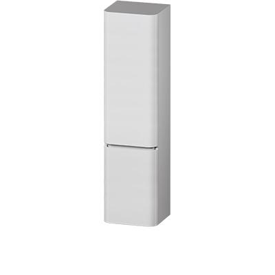 M30CHL0406FG Sensation, Шкаф-колонна, подвесной, левый, 40 см, двери, серый шелк, глянцевая, шт